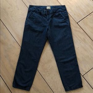 G. H. Bass & co. Cropped jeans size 0